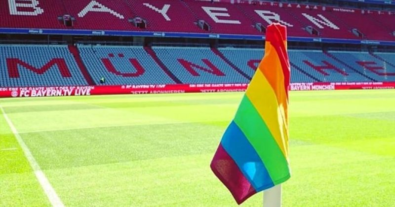 LGBT+ დროშა ალიანც არენაზე - ბაიერნი ჰომოფობიასთან და ტრანსფობიასთან ბრძოლის დღეს გამოეხმაურა