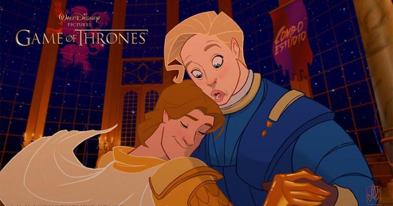 როგორები იქნებოდნენ GoT-ის პერსონაჟები Disney-ის სამყაროში - გალერეა