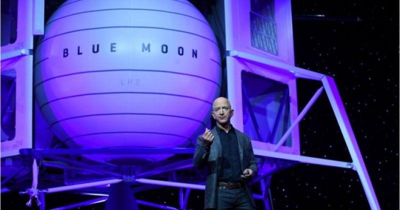 """""""დროა მთვარეზე დავბრუნდეთ და დავრჩეთ"""" - Amazon-ის დამფუძნებელმა პროექტი Blue Moon წარადგინა"""