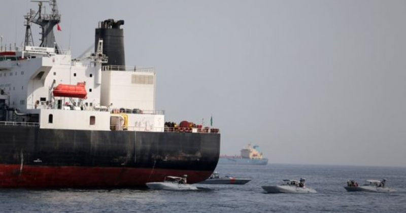 აშშ ჰორმუზის სრუტესთან ნავთობის ტანკერების საბოტაჟში ირანს ადანაშაულებს