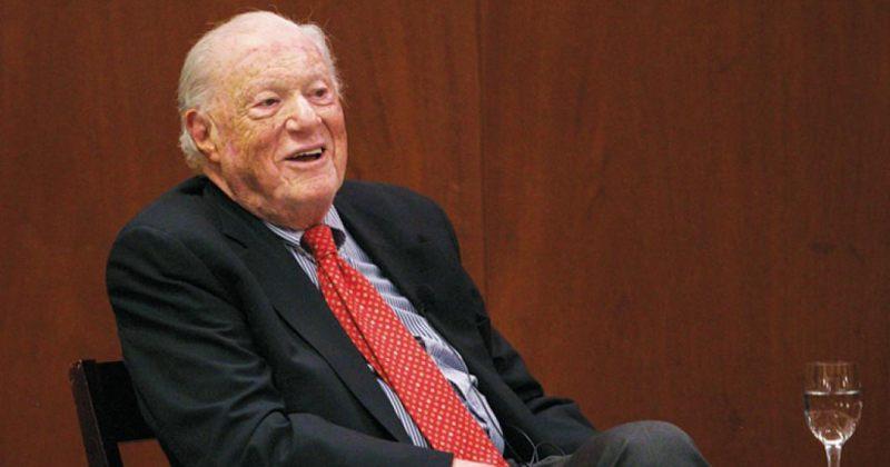 Human Rights Watch-ის დამფუძნებელი 96 წლის ასაკში გარდაიცვალა