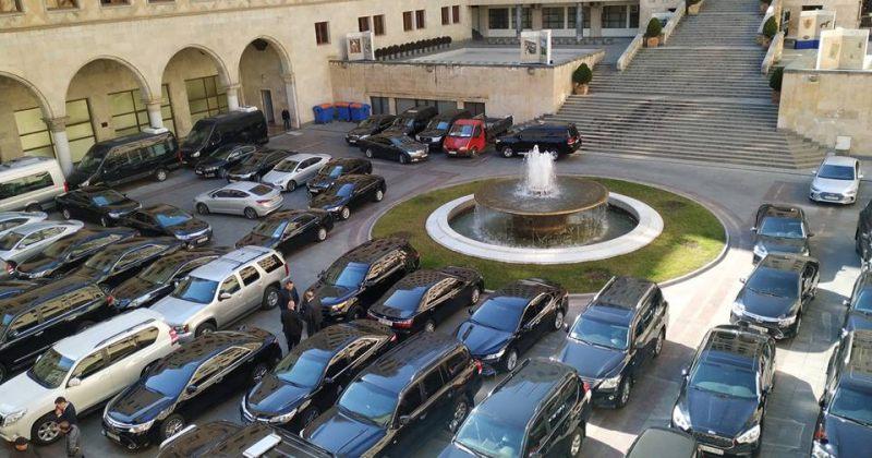 მთავრობა 16 ათასზე მეტი მანქანის შესანახად წელიწადში 128 მილიონზე მეტს ხარჯავს