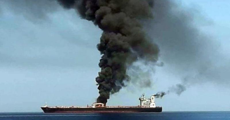 ომანის ყურეში ორ ნავთობტანკერზე აფეთქება მოხდა
