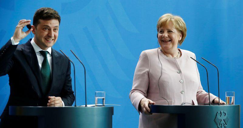 მერკელი: რუსეთს ყირიმის სანქციები მოეხსნება მაშინ, როდესაც ყირიმი უკრაინას დაუბრუნდება
