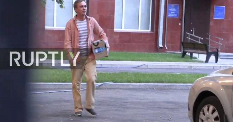 ჟურნალისტი ივან გოლუნოვი თავისუფალია