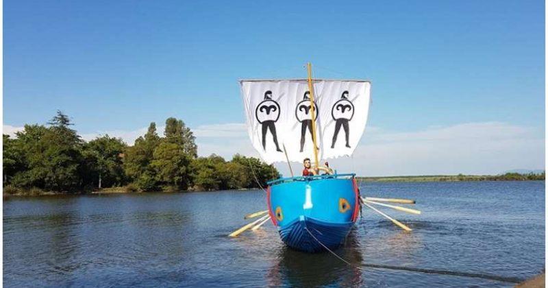"""ომარ ნიშნიანიძის """"არგოს"""" მოგზაურობის შეწყვეტა მოუწია, გემი, შესაძლოა, ტრანსპორტით წაიღონ"""