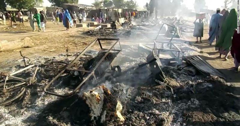 ბოკო ჰარამის თავდასხმას დაკრძალვაზე ნიგერიაში 65 ადამიანი ემსხვერპლა