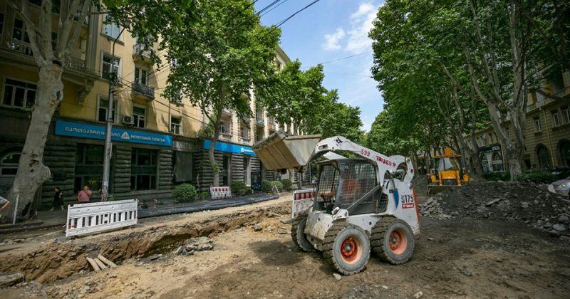 ტრანსპორტი ფალიაშვილის ქუჩიდან ჭავჭავაძისკენ კავსაძის ქუჩის გავლით იმოძრავებს