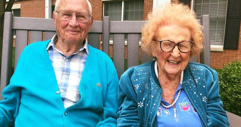 აშშ-ში 102 და 100 წლის ადამიანებმა იქორწინეს