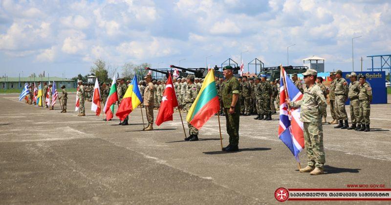 Agile Spirit 2019 - საქართველოში მრავალეროვნული სამხედრო წვრთნები დაიწყო (ფოტოები)