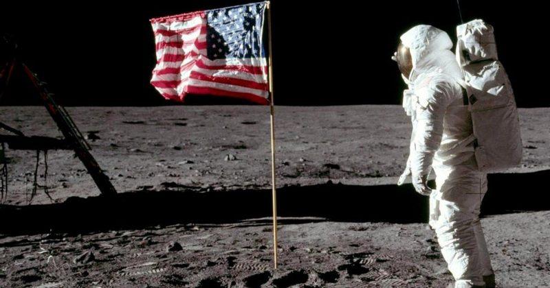 50 წლის წინ ადამიანმა პირველად დადგა ფეხი მთვარეზე - ასტრონავტების გადაღებული ფოტოები