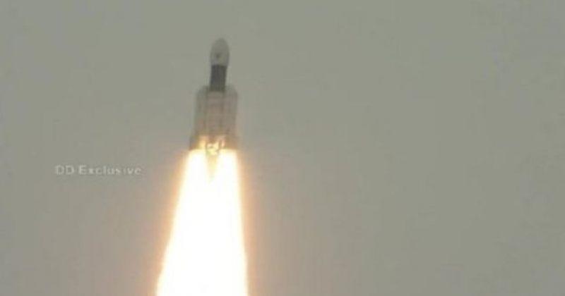 ინდოეთმა მთვარეზე ხომალდი Chandrayaan-2 გაუშვა