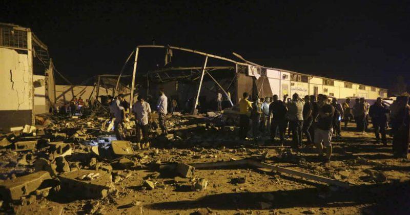 ლიბიაში მიგრანტთა ბანაკზე საჰაერო თავდასხმას 40 ადამიანი ემსხვერპლა, დაშავდა 80-ზე მეტი