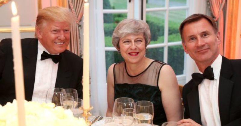 ტრამპმა აშშ-ში ბრიტანეთის ელჩს სულელი უწოდა, ხოლო ტერეზა მეი ბრექსითის გამო გააკრიტიკა