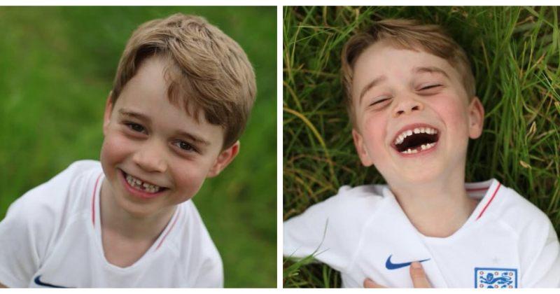 პრინც ჯორჯის მე-6 დაბადების დღის აღსანიშნავად სამეფო ოჯახმა ახალი ფოტოები გაავრცელა