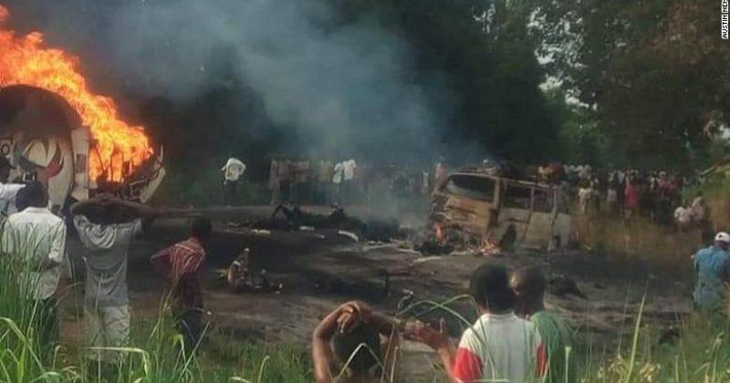 ნიგერიაში ავტოცისტერნის აფეთქებას 50 ადამიანი ემსხვერპლა, დაშავდა 101