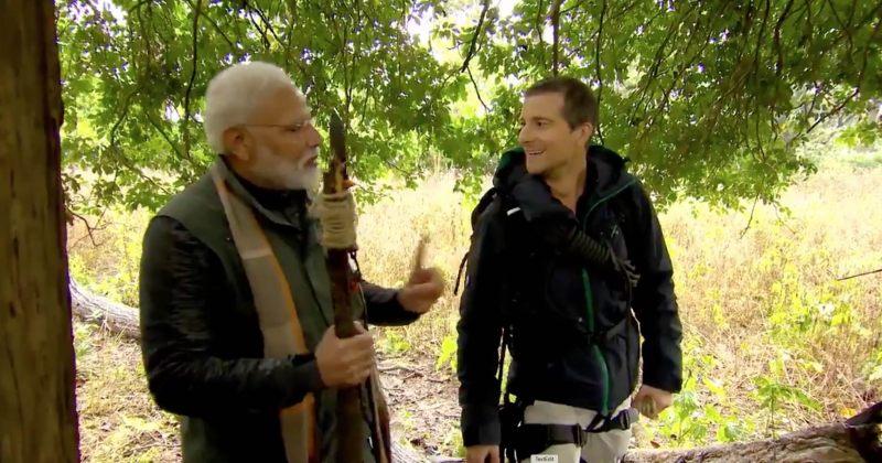 ინდოეთის პრემიერმინისტრმა ბეარ გრილსთან ერთად ინდოეთის ბუნებაში იმოგზაურა [Video]