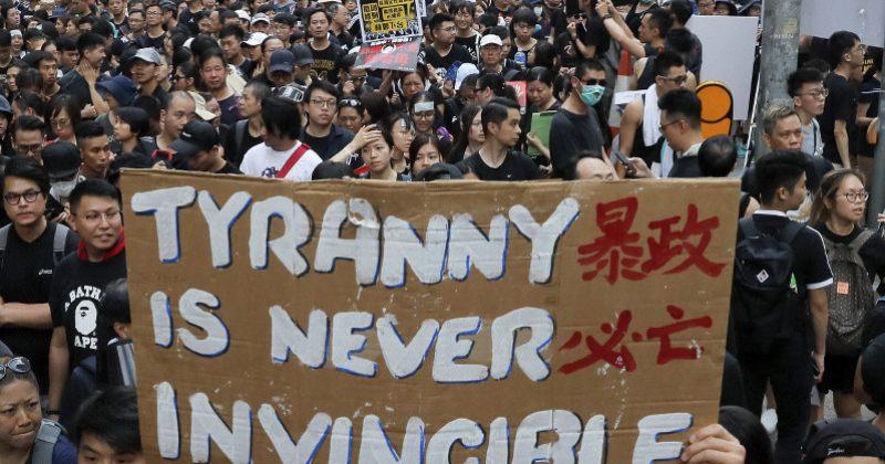 """ჩინეთის მმართველ კომუნისტურ პარტიაში ჰონგ-კონგელ მომიტინგეებს """"რადიკალებს"""" უწოდებს"""