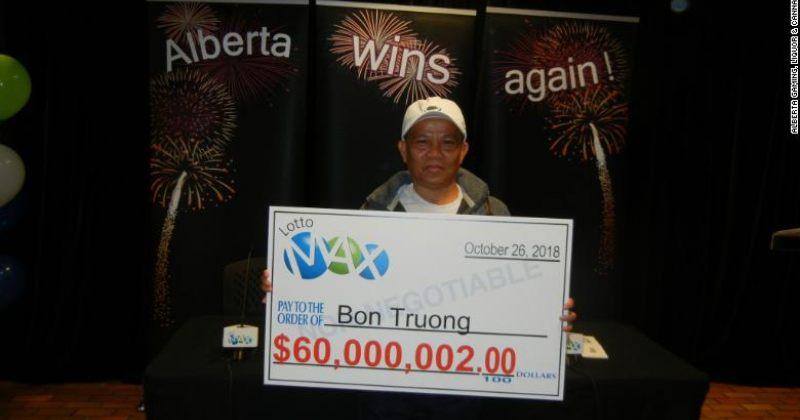 კაცმა, რომელიც 20 წელი ერთსა და იმავე ლატარიას თამაშობდა, $60 მილიონი მოიგო