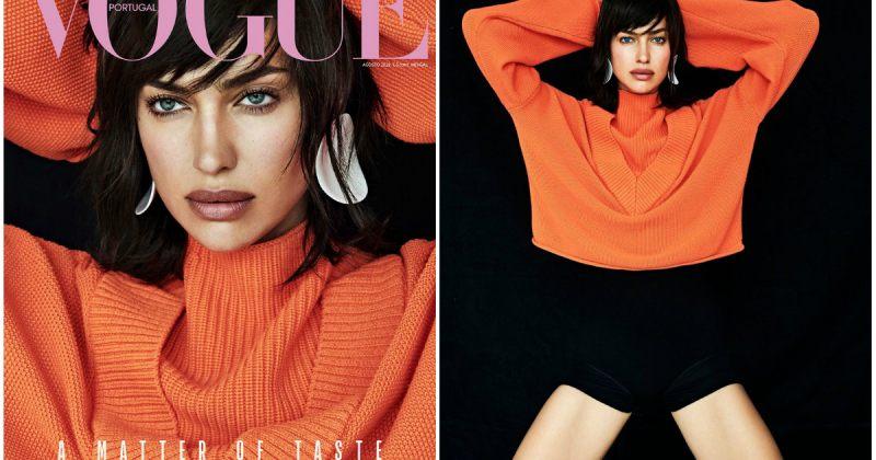 ირინა შეიკი პორტუგალიური Vogue-ის აგვისტოს ნომერში [ფოტოები]