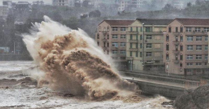 ჩინეთში ტაიფუნს 13 ადამიანი ემსხვერპლა, მილიონზე მეტი ევაკუირებულია