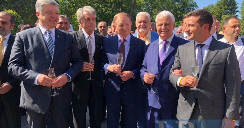 უკრაინის ყოფილმა და მოქმედმა პრეზიდენტებმა დამოუკიდებლობის დღე ერთად აღნიშნეს