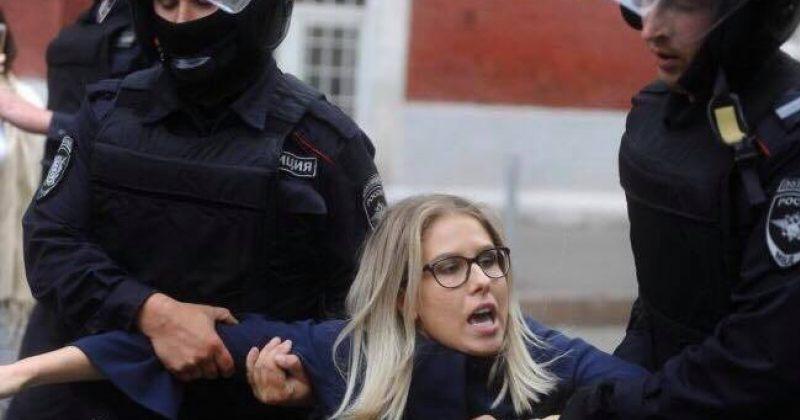 რუსეთში ნავალნის ანტი-კორუფციული ფონდის ადვოკატი ლიუბოვ სობოლი დააკავეს [Video]