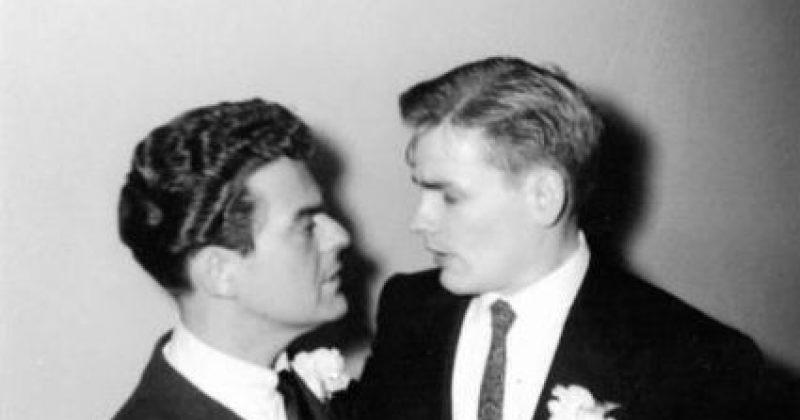 ფოტოები: 1957 წლის გეი ქორწინება აშშ-ში
