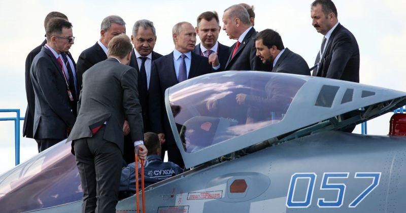 პუტინმა და ერდოღანმა შეხვედრაზე Su-35 საბრძოლო თვითმფრინავების ყიდვაზე ისაუბრეს
