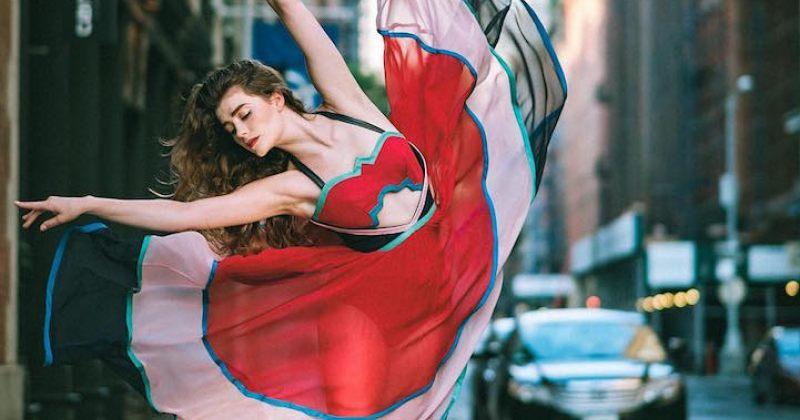 ბალეტის მოცეკვავეების პორტრეტები ნიუ-იორკის ქუჩებში [გალერეა]