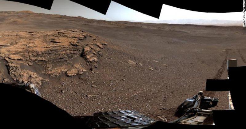 NASA-ს Curtiosity როვერის ახალი ფოტოები მარსიდან [გალერეა]
