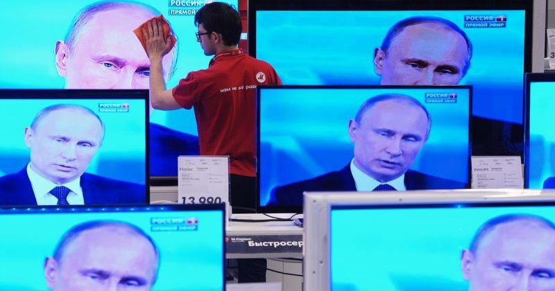რუსეთში ტელევიზიისადმი ნდობა 10 წლის მანძილზე 25%-ით შემცირდა