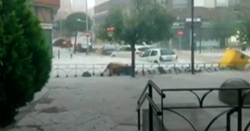 ვიდეო: წყალდიდობა ესპანეთში - მადრიდის ქუჩები წყლითაა დაფარული