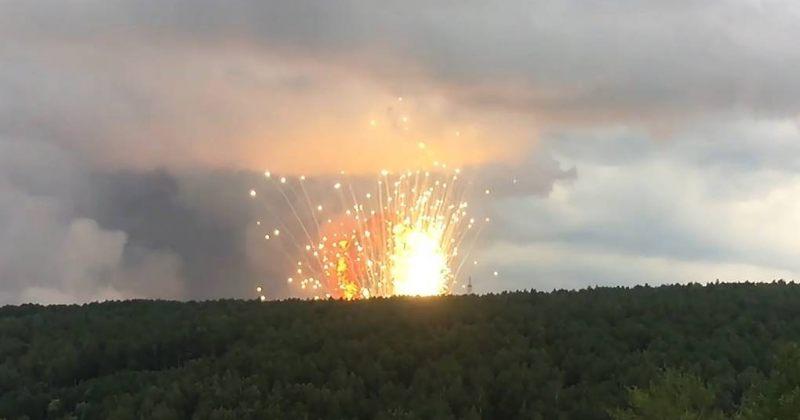 რუსეთში ერთ-ერთ სამხედრო ნაწილში აფეთქების შედეგად 4 ადამიანი დაშავდა