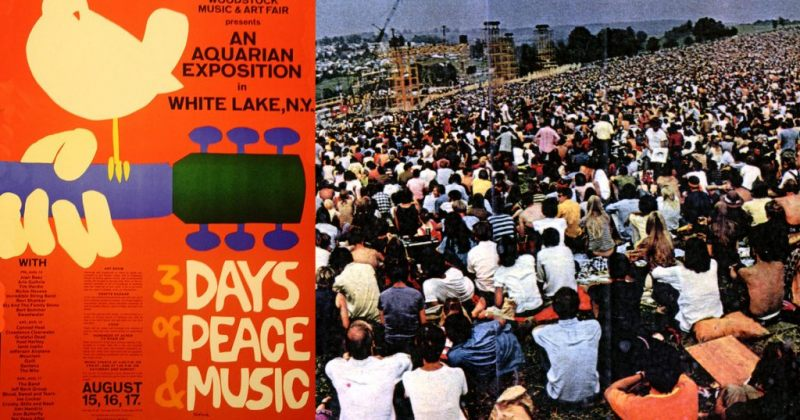 """""""3-დღიანი მშვიდობისა და მუსიკის ფესტივალი"""" - WOODSTOCK-ის დაწყებიდან 50 წელი გავიდა"""