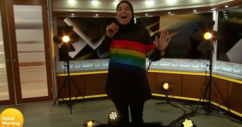 """""""ყოველთვის მუსლიმი ვიყავი"""" - შინედ ო'კონორს გადაცემაში LGBT დროშიანი ჰიჯაბი ეცვა"""