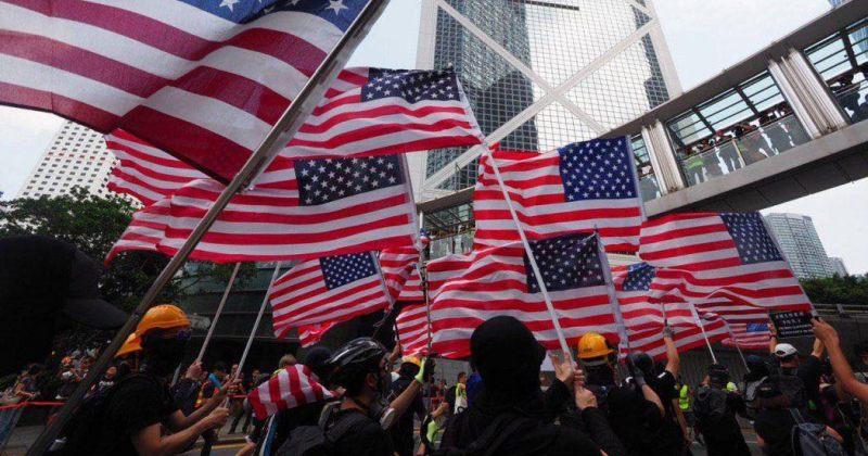 ჰონგ-კონგელებმა აშშ-ს ჰონგ-კონგის ძირითადი თავისუფლებების კანონპროექტის მიღება სთხოვეს [VIDEO]
