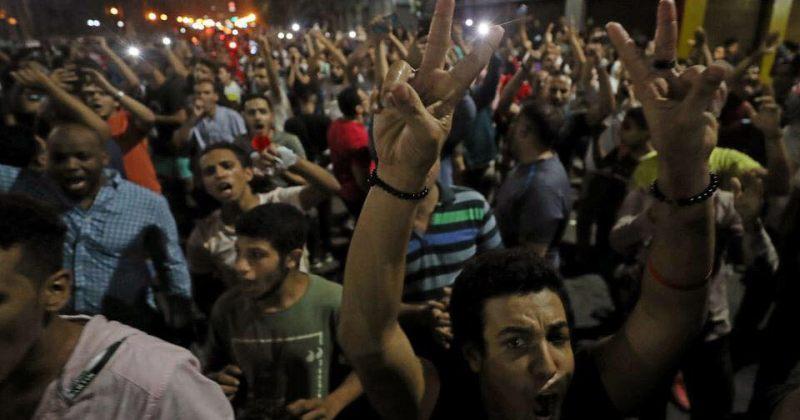 ეგვიპტელებმა სისის მმართველობა გააპროტესტეს, პოლიციამ აქცია ცრემლსადენი გაზით დაშალა