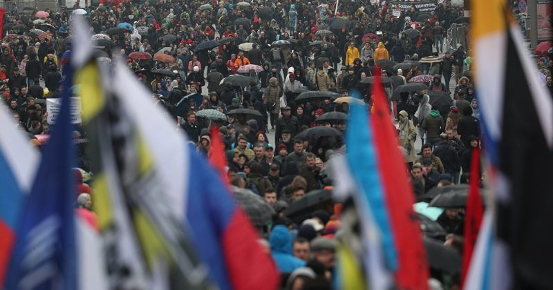 რუსეთში პოლიტპატიმრების გათავისუფლების მოთხოვნით აქციები დაიწყო