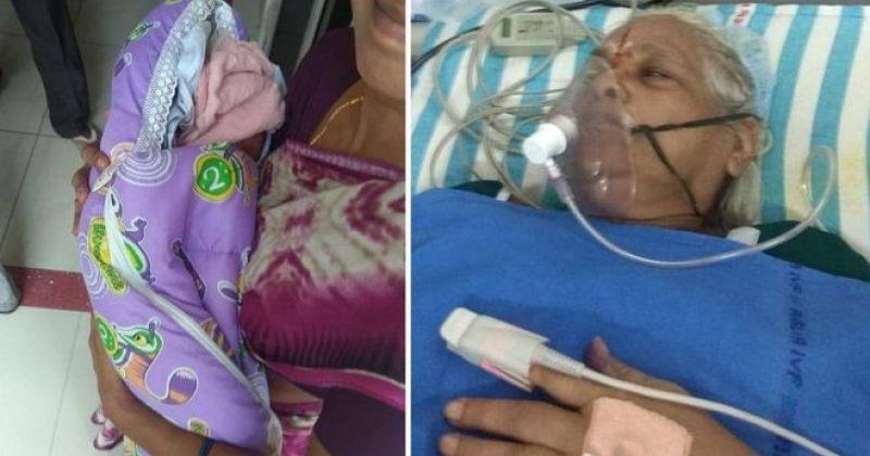 ინდოეთში 73 წლის ქალმა ტყუპი გოგოები გააჩინა