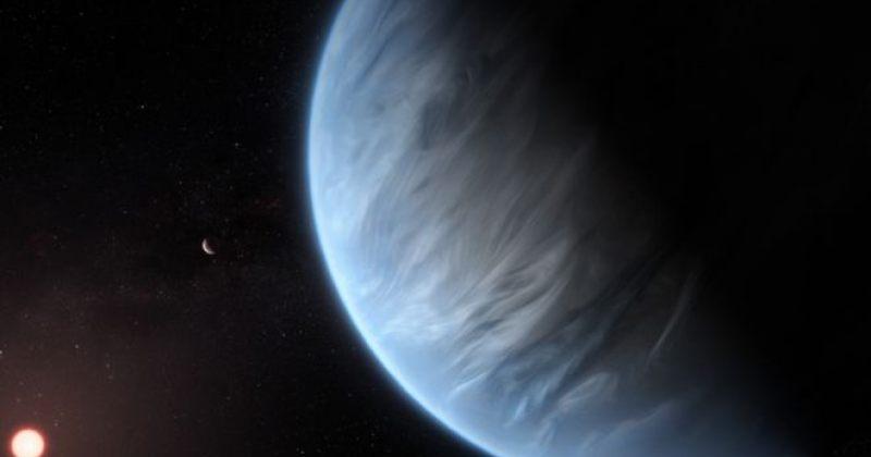 მზის სისტემის მიღმა, საცხოვრებლად ვარგის ზონაში პლანეტის ატმოსფეროში წყალი აღმოაჩინეს