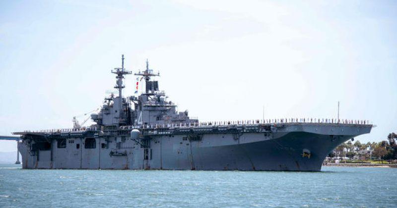 ფოთის პორტი: აშშ-ის სამხედრო გემი ტექნიკური მიზეზის გამო ვერ შემოვიდა, ჩვეულებრივი რამ მოხდა