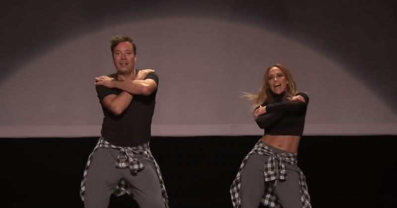 მუსიკალური კლიპების ცეკვის ისტორია ჯენიფერ ლოპესისა და ჯიმი ფელონის შესრულებით (VIDEO)