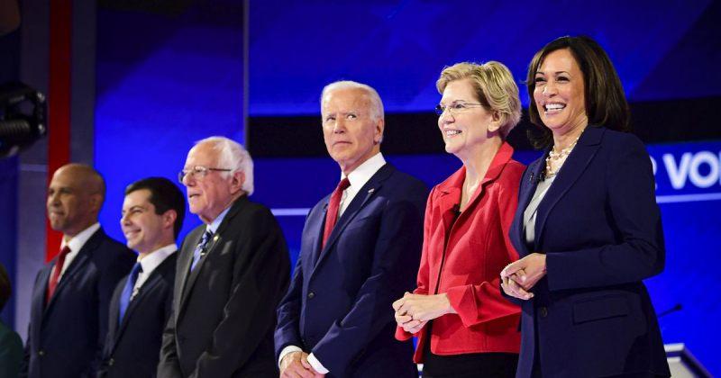 ტეხასში აშშ-ის დემოკრატიული პარტიის საპრეზიდენტო კანდიდატების მესამე დებატები გაიმართა