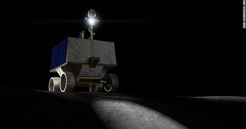 NASA მთვარის სამხრეთ პოლუსზე წყლის საძებნელად როვერს გაგზავნის