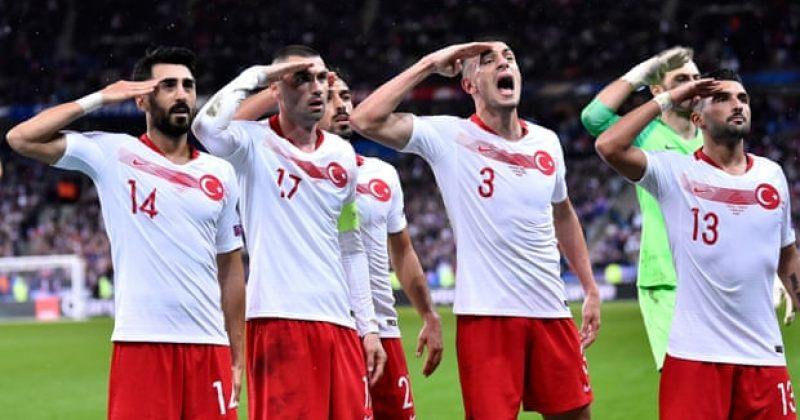 თურქმა ფეხბურთელებმა გატანილი გოლები სამხედრო სალმით აღნიშნეს, საქმეს UEFA შეისწავლის