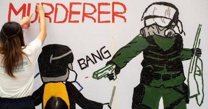 ცეცხლსასროლი იარაღით დაჭრილ ჰონგ-კონგელ თინეიჯერს აჯანყებაში ადანაშაულებენ