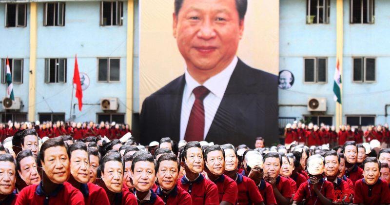 ინდოეთში ჩინეთის პრეზიდენტის ჩამოსვლა სკოლაში სი ძინპინის ნიღბებითაღნიშნეს [გალერეა]