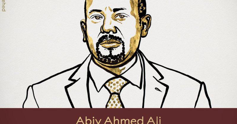 ნობელის პრემია მშვიდობის დარგში ეთიოპიის პრემიერ-მინისტრს აბი აჰმედს მიენიჭა