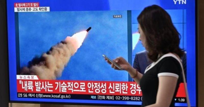ჩრდილოეთ კორეამ ბალისტიკური რაკეტა წყალქვეშა ხომალდიდან გაუშვა